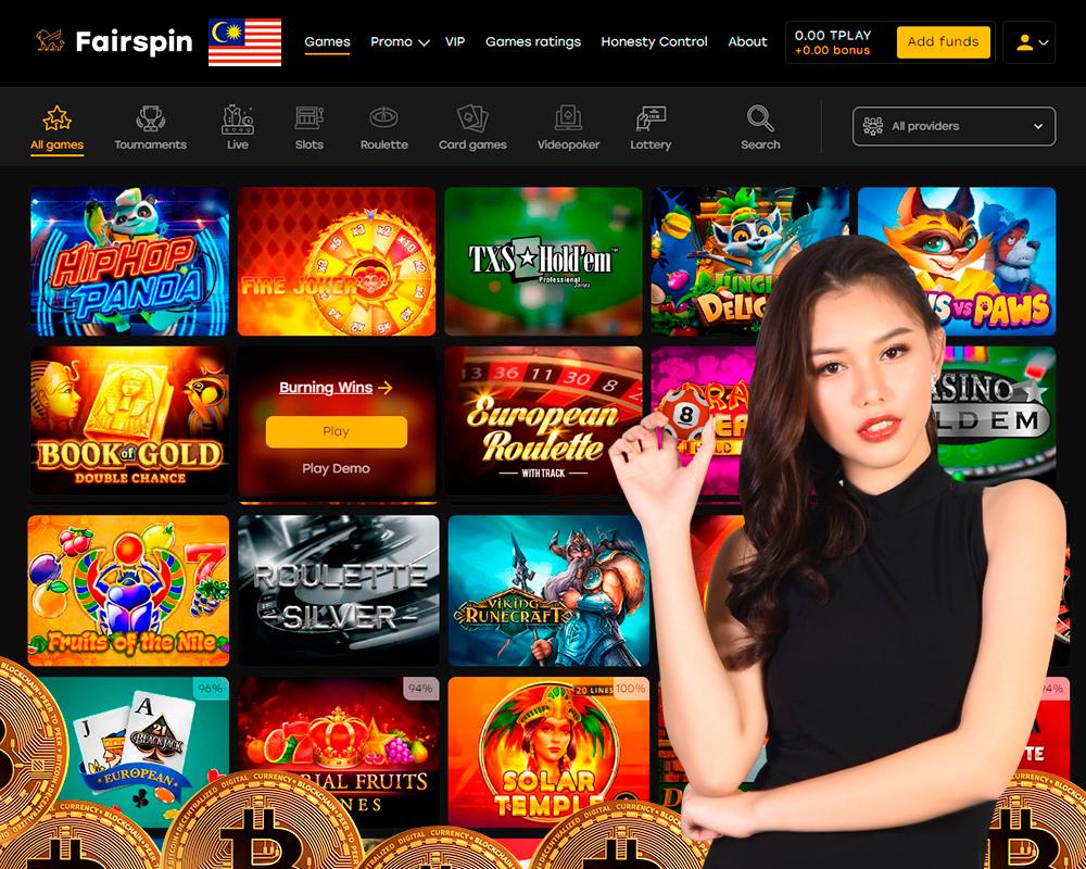 Slot wang bitcoin kasino bitcoin sebenar
